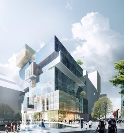 Johnson Pilton Walker's competition-winning design for 3 Parramatta Square.