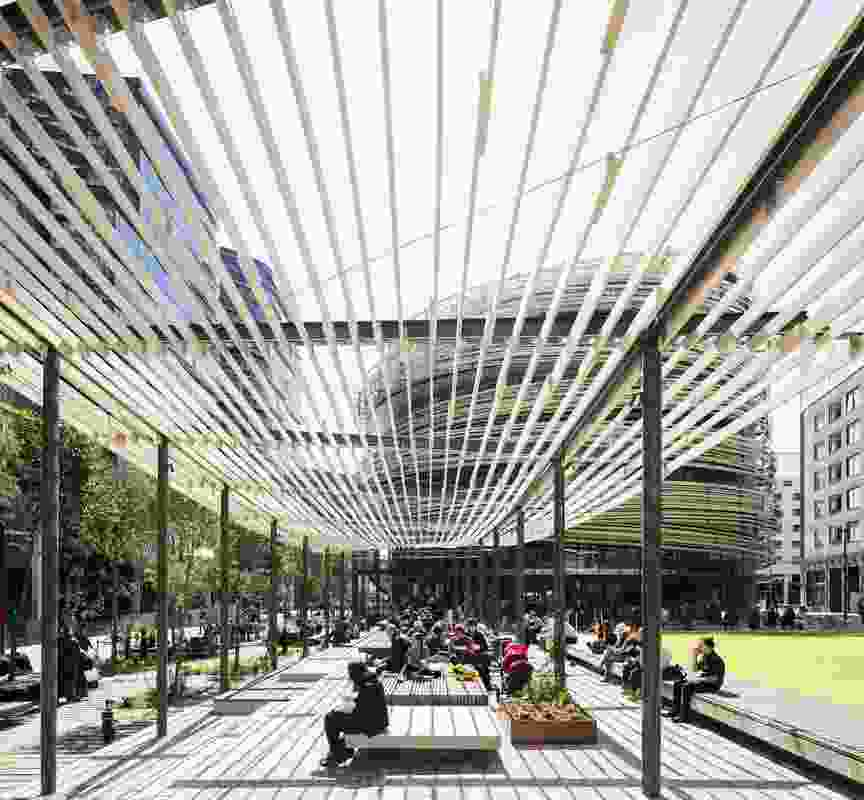 Darling Square by Aspect Studios.