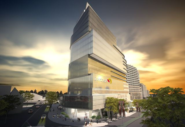 The proposed Southpoint complex at South Bank, Brisbane, by Jackson Teece.