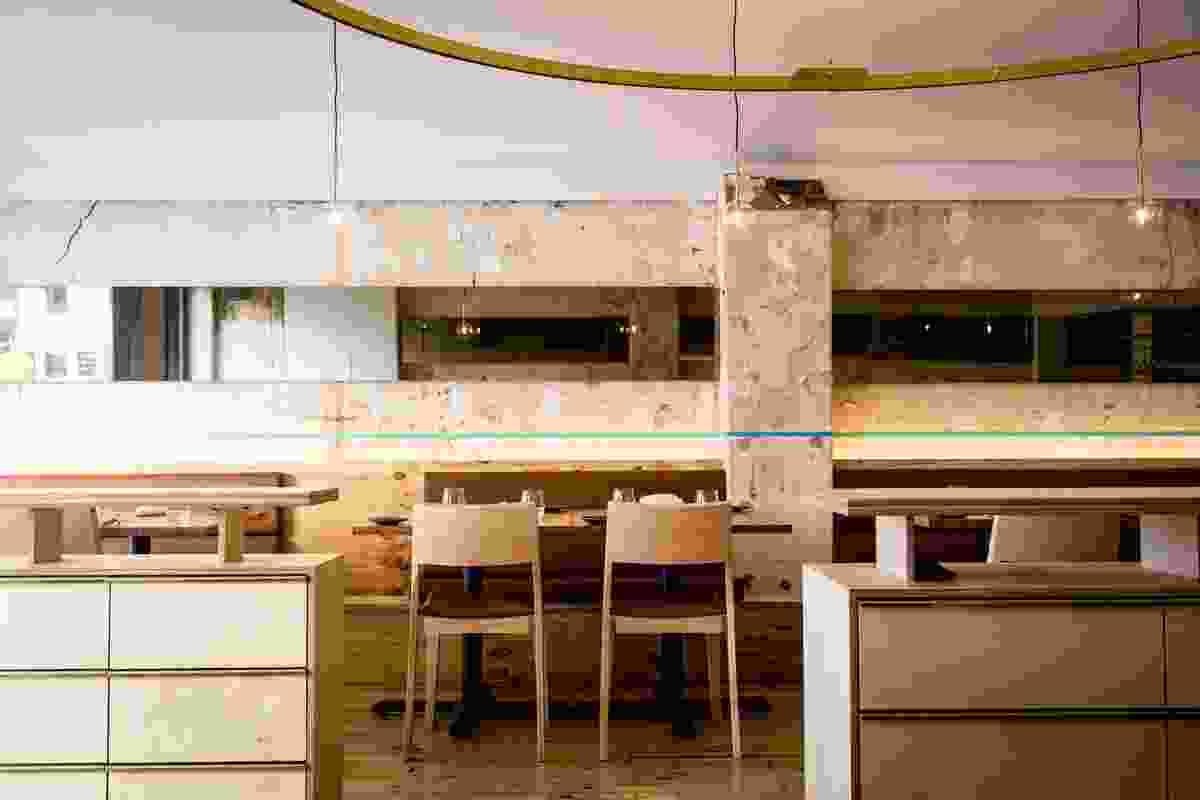 Atlas Dining by GelliKovic Architects.