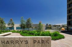 Harry's Park opens in Milsons Point