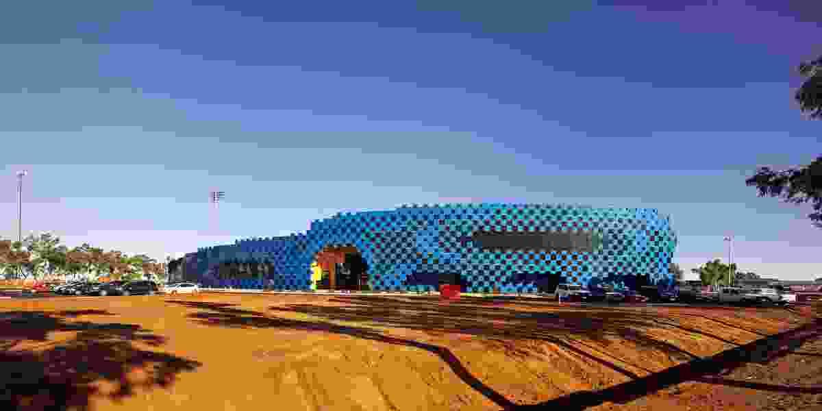 Wanangkura Stadium by ARM Architecture.