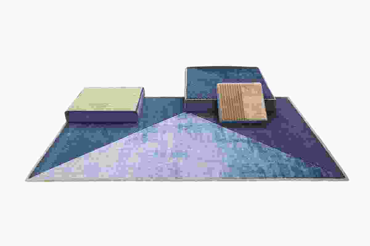 Sombra rugs and cushions from Mohebban