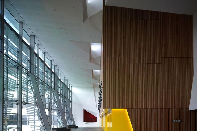 UTS Great Hall and Balcony Room – DRAW: De Manicor Russell Architecture Workshop with Kann Finch
