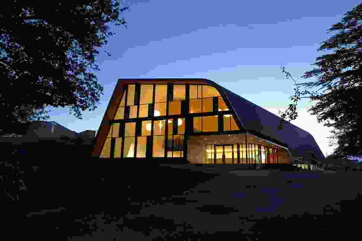 Public Architecture category finalist: The Blyth Performing Arts Centre, Havelock North by Stevens Lawson Architects.