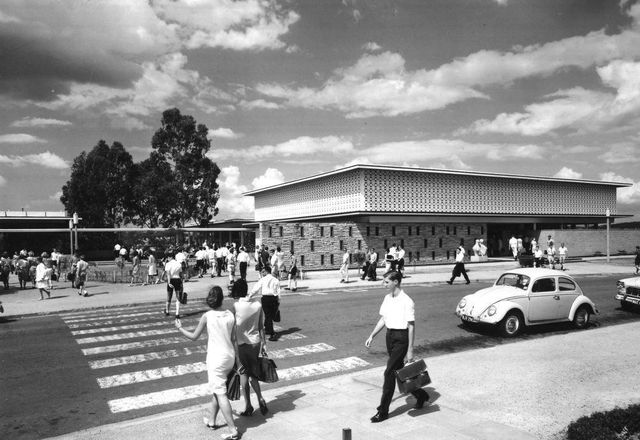 The Student Union Building in 1965.