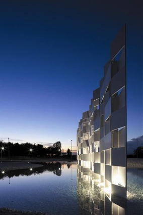 Casalgrande Ceramic Cloud, Italy, by Kengo Kuma and Associates.