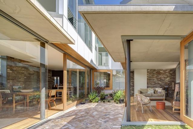 Nikki Maloneys by Drew Heath Architects.
