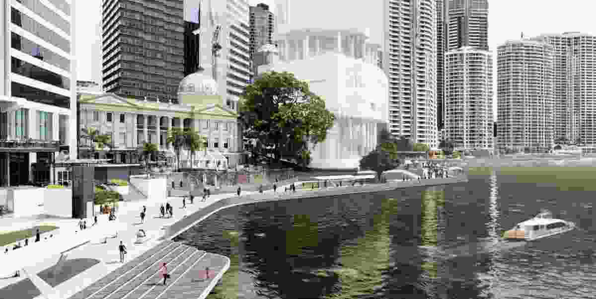 The City Reach Waterfront Masterplan concept.