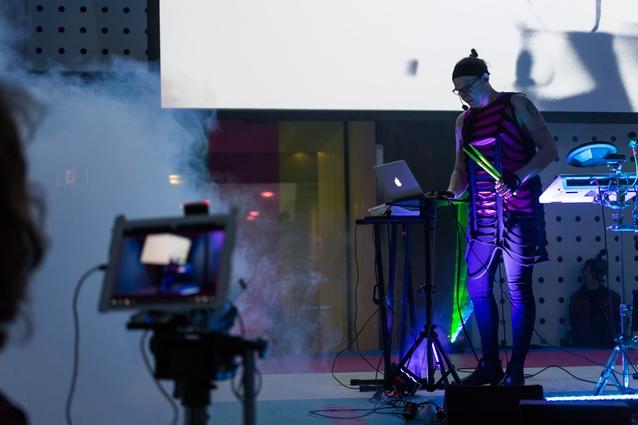Simona Castricum performs at <i>Workaround</i>.