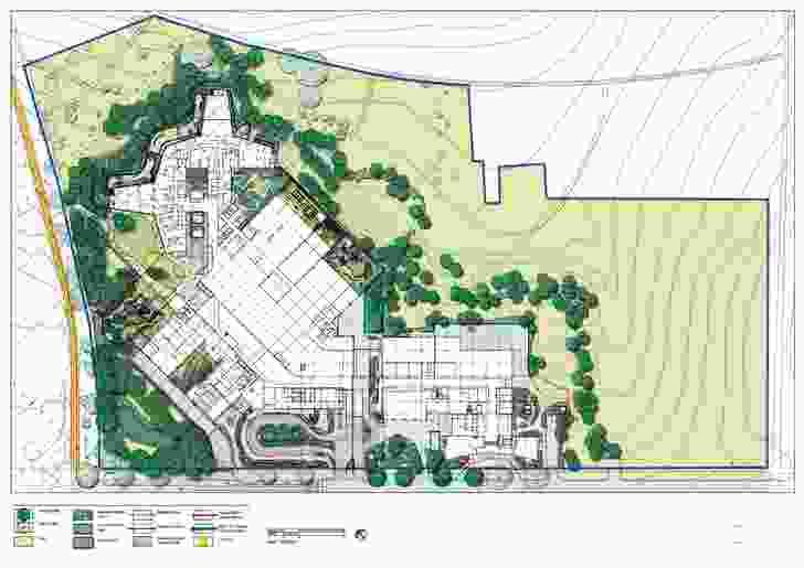 Royal Children's Hospital site plan.