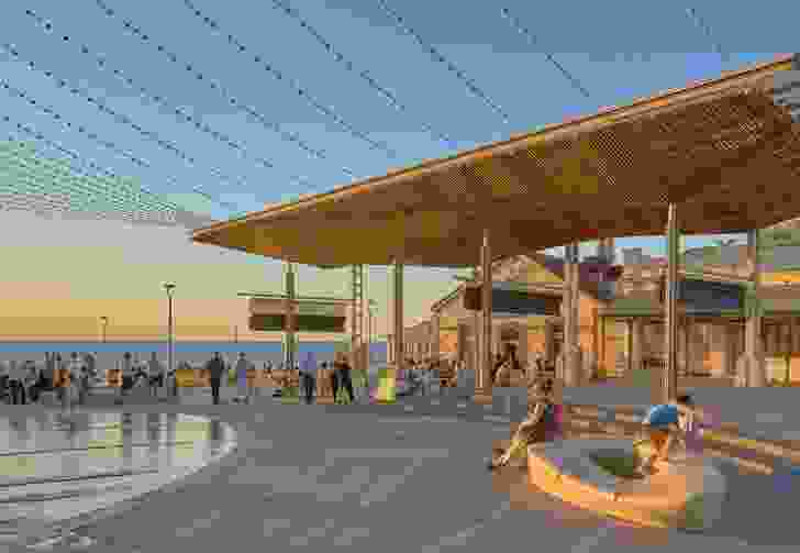 Henley Square Redevelopment by Taylor Cullity Lethlean and Troppo Architects in association with the City of Charles Sturt.