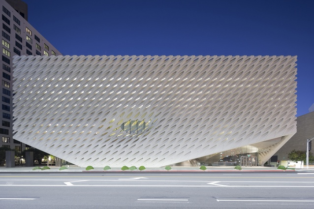 The Broad Museum by Diller Scofidio and Renfro.
