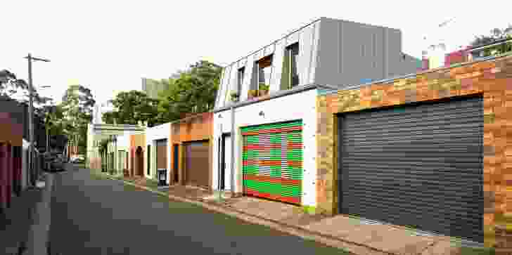 Laneway Studio sits under a mansard roof form.