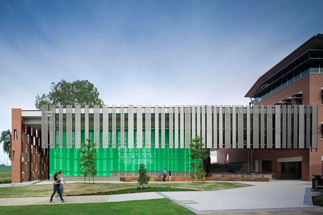 University of Queensland Ipswich Auditorium by Wilson Architects.