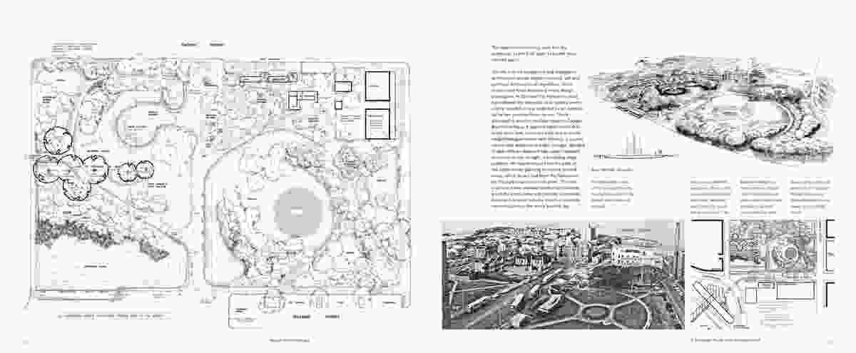A spread from Design with Landscape by Bruce Mackenzie.