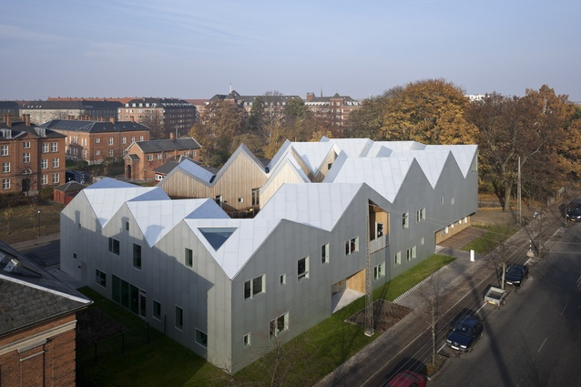 Centre for Health and Cancer by Nord Architects.