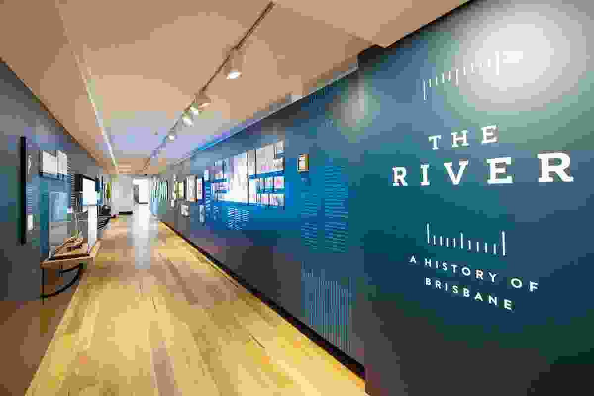 The River: A History of Brisbane exhibition at the Museum of Brisbane.