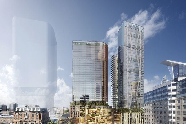 Central Place Sydney by Fender Katsalidis and Skidmore Ownings and Merrill.