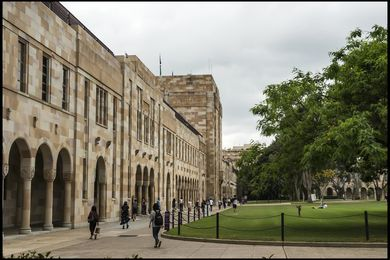 The University of Queensland.
