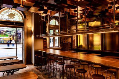 New Oxford Scholar interior by March Studio.