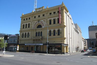 The existing Her Majesty's Theatre in Adelaide.