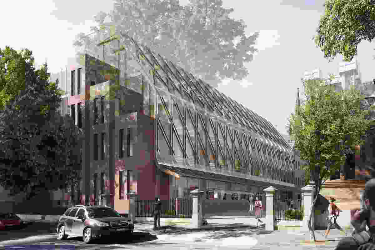 Tonkin Zulaikha Greer's proposal for a new industry hub at the University of Technology Sydney.
