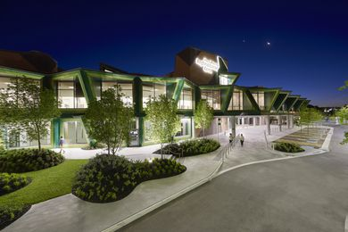 Albury Wodonga Regional Cancer Centre by Billard Leece Partnership.