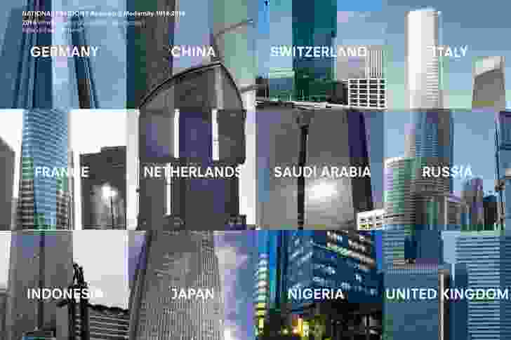 Modern buildings from across the world illustrate the bland conformity of contemporary architectural identity.
