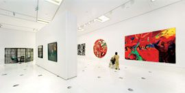 The new NGV exhibitions.Image: John Gollings