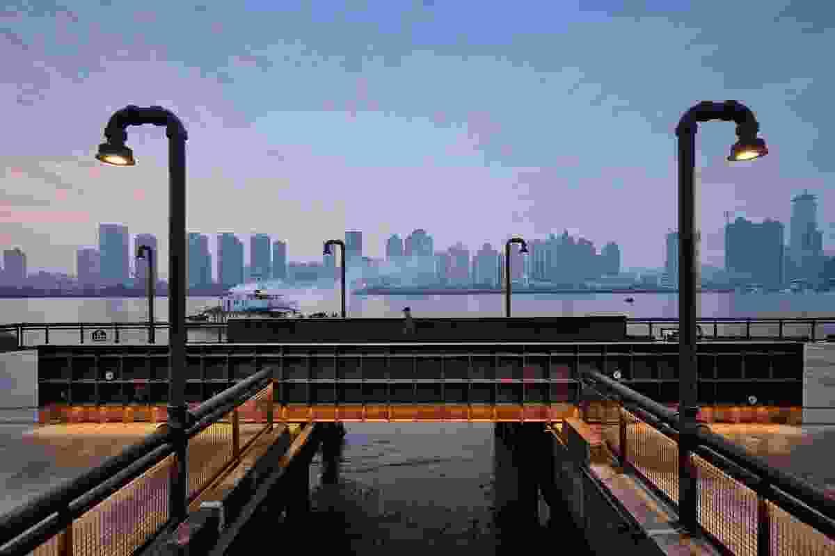 Demonstration Section of Yangpu Riverside Public Space by Original Design Studio.