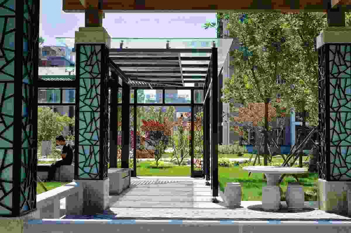Beijing Olympic village by EADG.