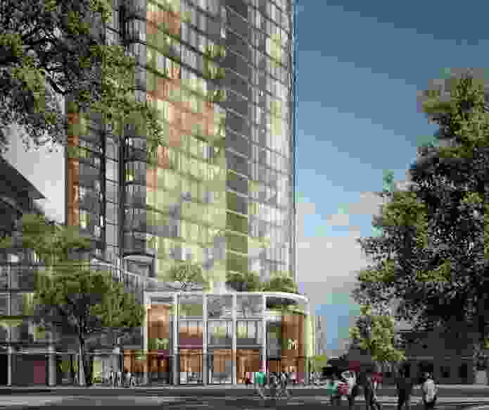 The proposed Charles and George development by Woods Bagot.