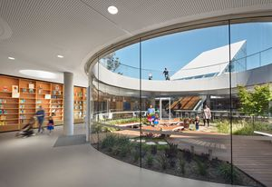Green Square Library and Plaza by Stewart Hollenstein in association with Stewart Architecture.