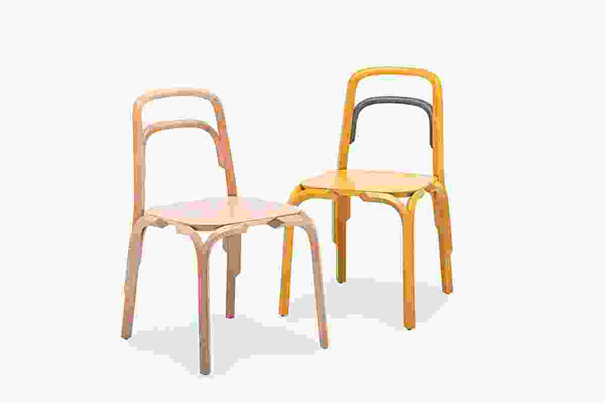 Sessel chairs by Martino Gamper.