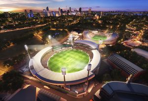 Cox Architecture's proposal for the new Northern Stand at the SCG.