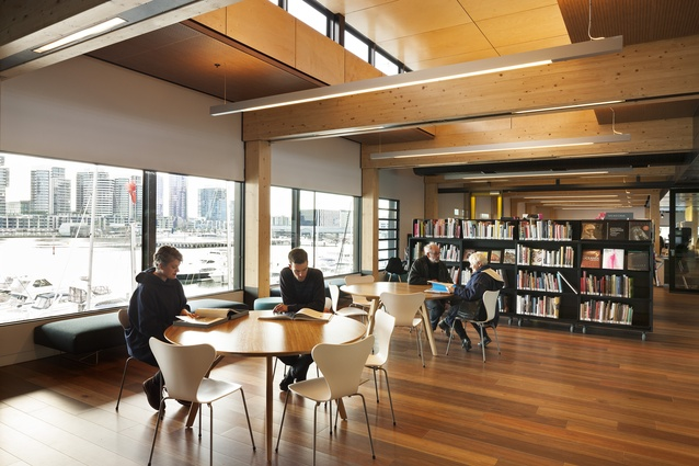 Docklands Library, Melbourne.