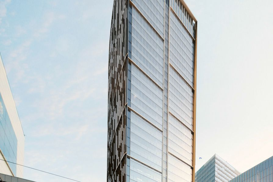 The new design for Melbourne Quarter tower by Woods Bagot.