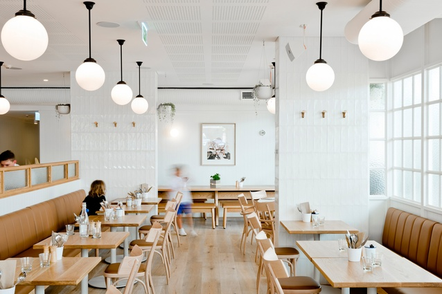 Gerrale St Kitchen by H&E Architects.
