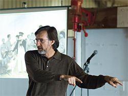 The University of Tasmania's Professor of Philosophy Jeff Malpas. Photograph David Travalia.