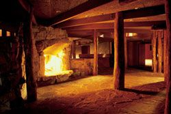 Brambuk interior fire