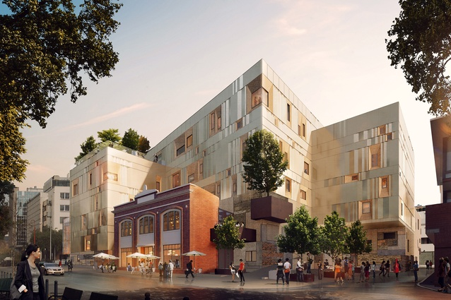 University of Tasmania's Creative Industries and Performing Arts Development to be known as The Hedberg by Liminal Studio and WOHA.