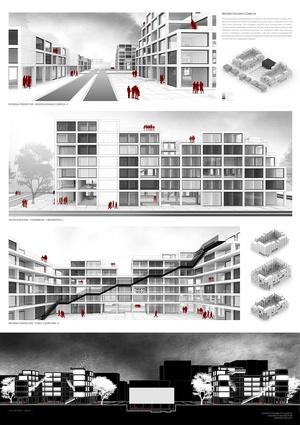 Wooden Housing Complex by Stewart Youngblutt.