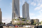 Contentious twin-tower proposal for Perth could be a 'paradigm shift'