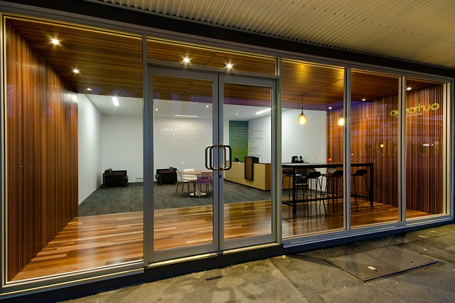 Keyes & Co Property – Foyer Refurbishment by Outcrop Architecture.