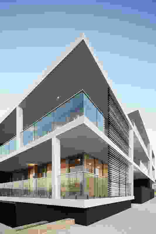 The Marina Apartments by McDonald Jones Architects.