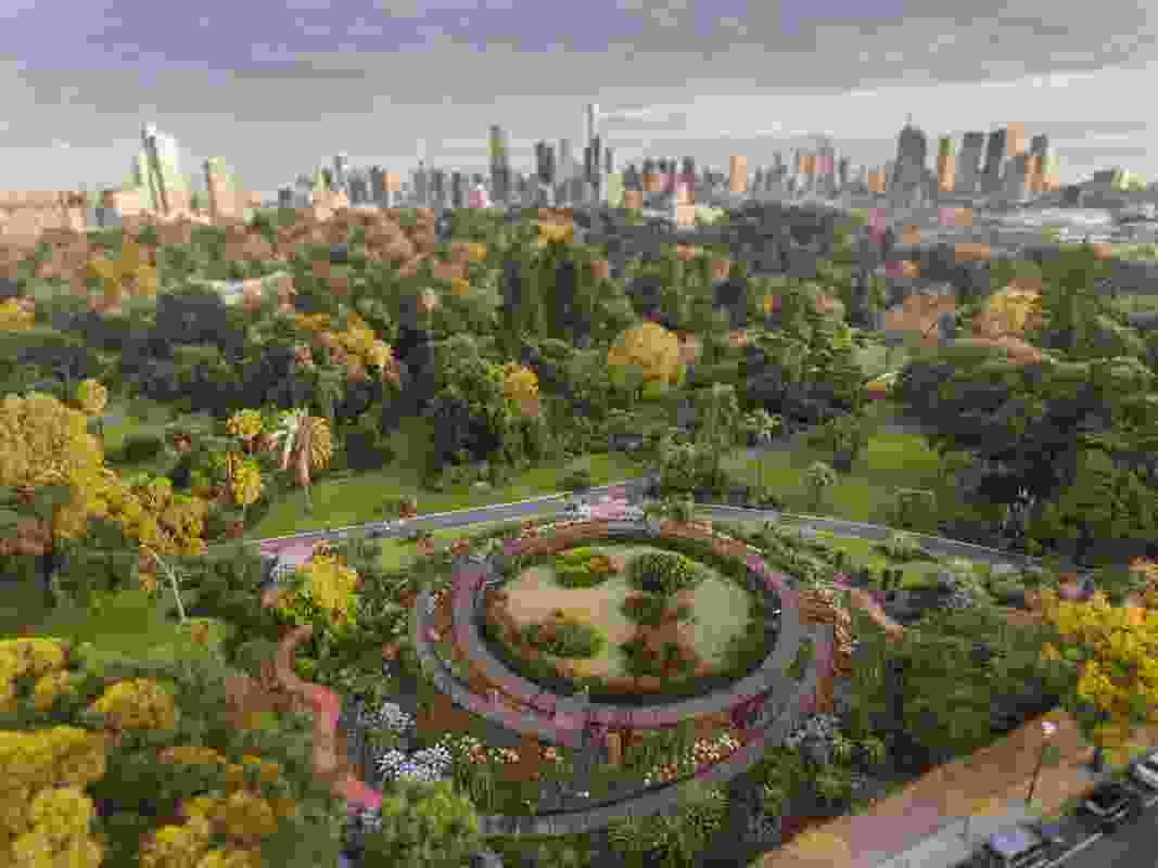 Royal Botanic Gardens Victoria, Melbourne Gardens.