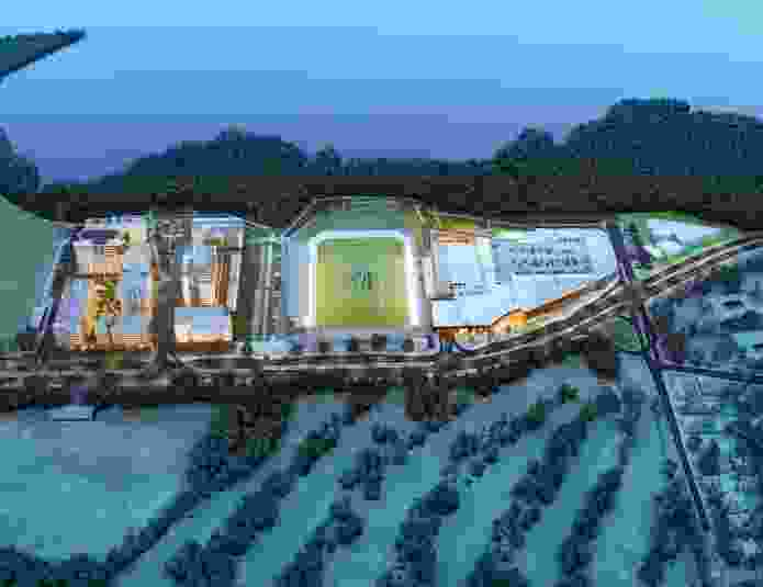 An overview of the Woolooware Bay project that was approved in April 2012.