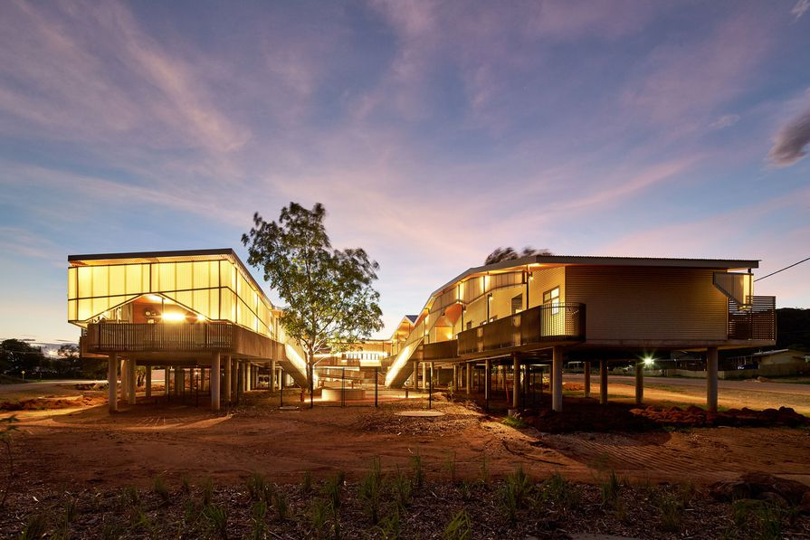 The Walumba Elders Centre by Iredale Pedersen Hook.