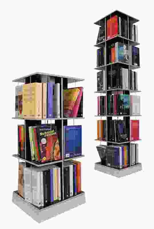 Buchstabler book rack from Interstudio.